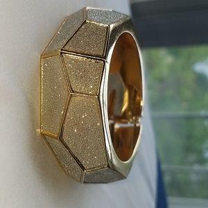 Gold and glittery bracelet